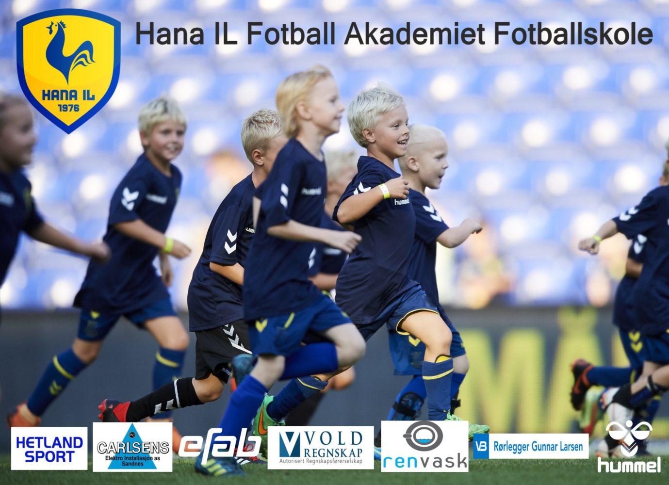 Hana IL Fotball Akademiet Fotballskole 2021